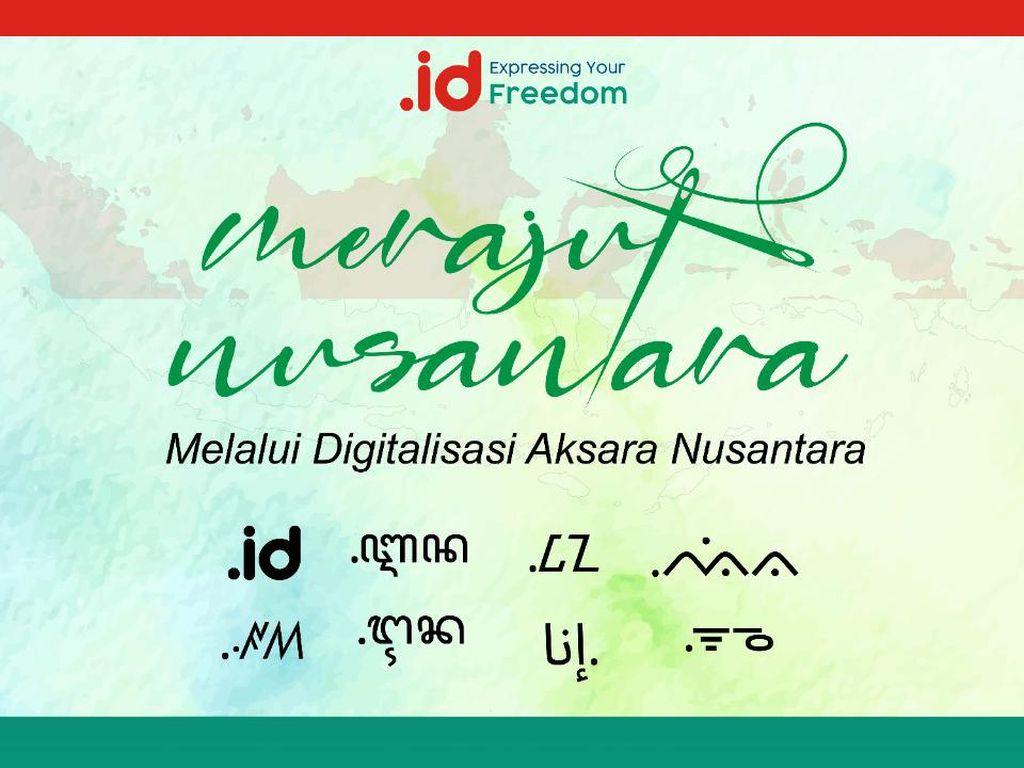 Digitalisasi Aksara Nusantara Pakai IDN - ccTLD, Apa Itu?