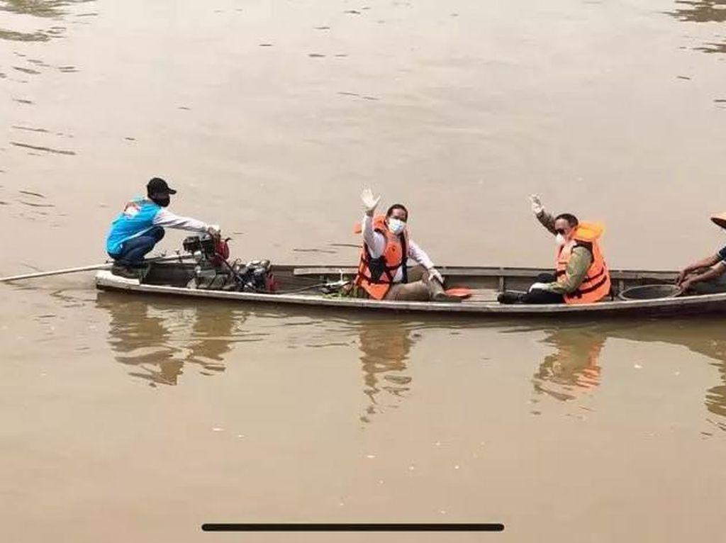 1.036 Paket Konversi BBM ke BBG Dibagikan ke Nelayan Musi Banyuasin