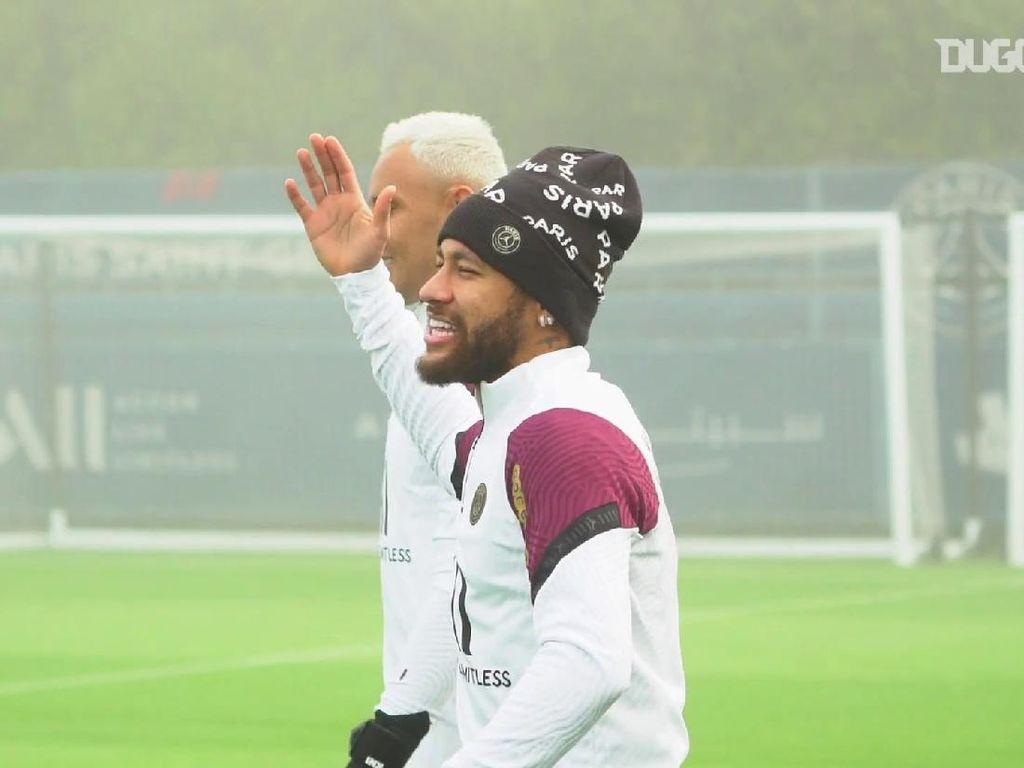 Video Latihan Neymar Jelang PSG Vs MU di Liga Champions