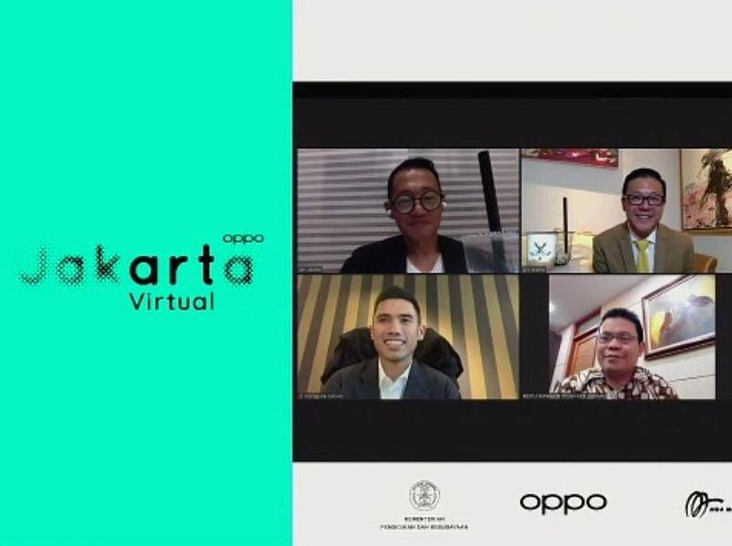 OPPO Art Jakarta Virtual 2020 Bisa Dinikmati Pencinta Seni hingga 15 Desember