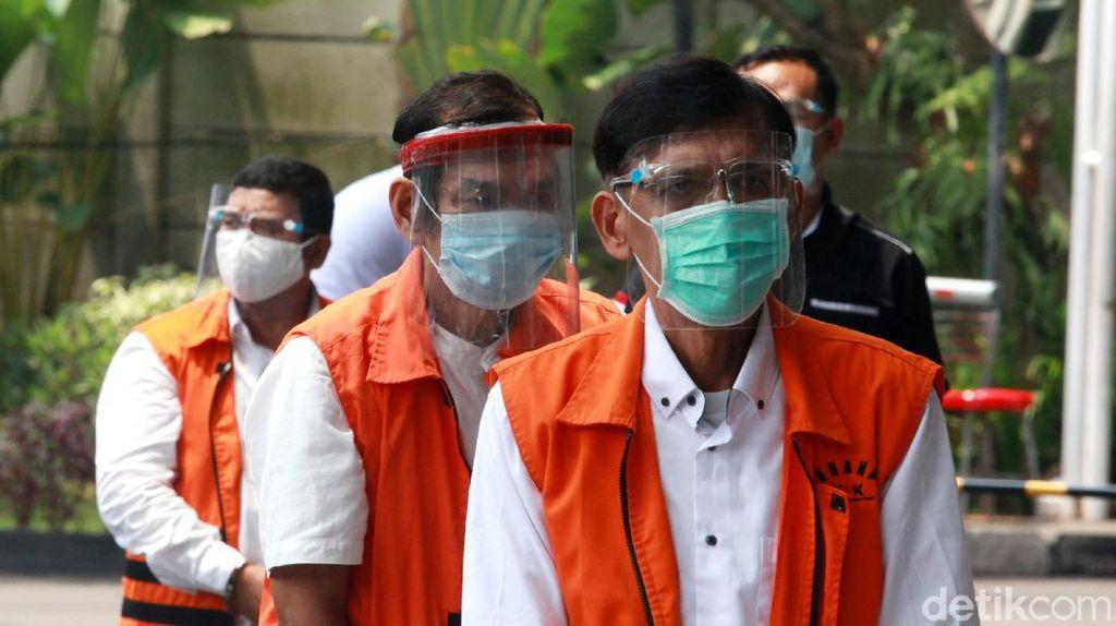 Para Eks Anggota DPRD Sumut Tersangka Suap Gatot Pujo Diperiksa KPK