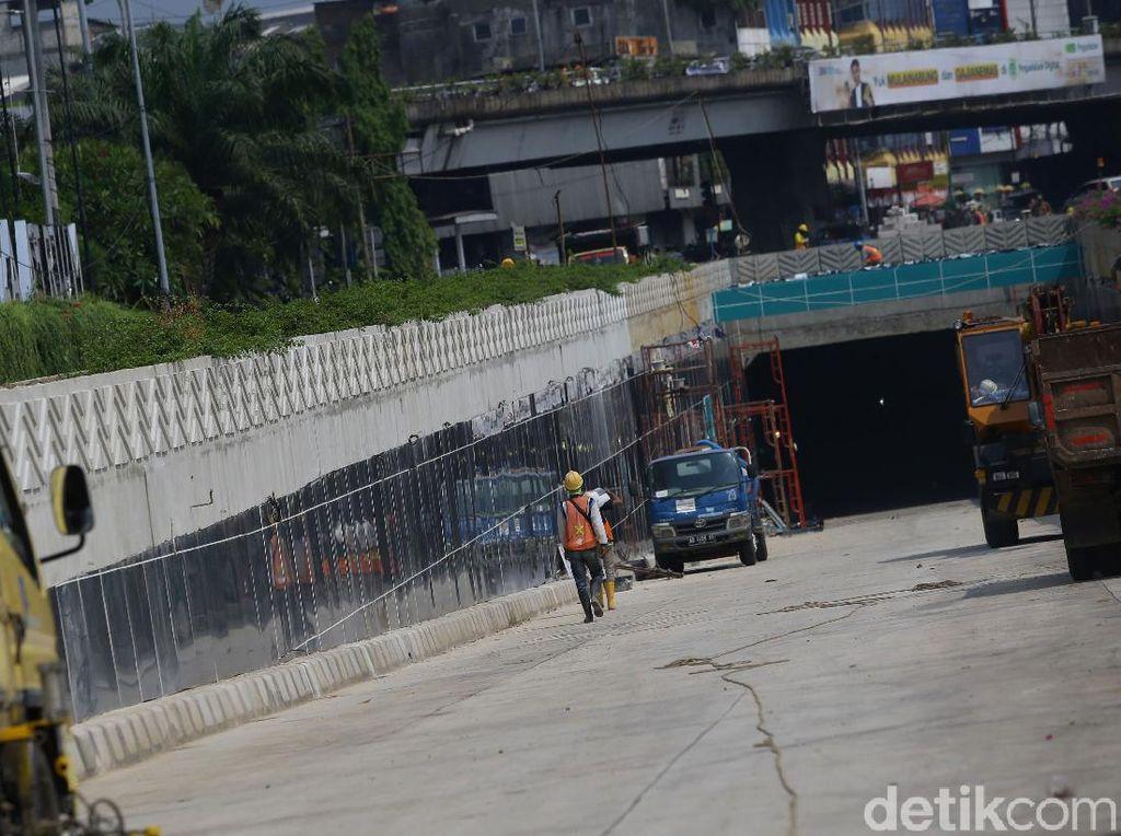 Underpass Senen Extension Diuji Coba Hari Ini hingga Besok