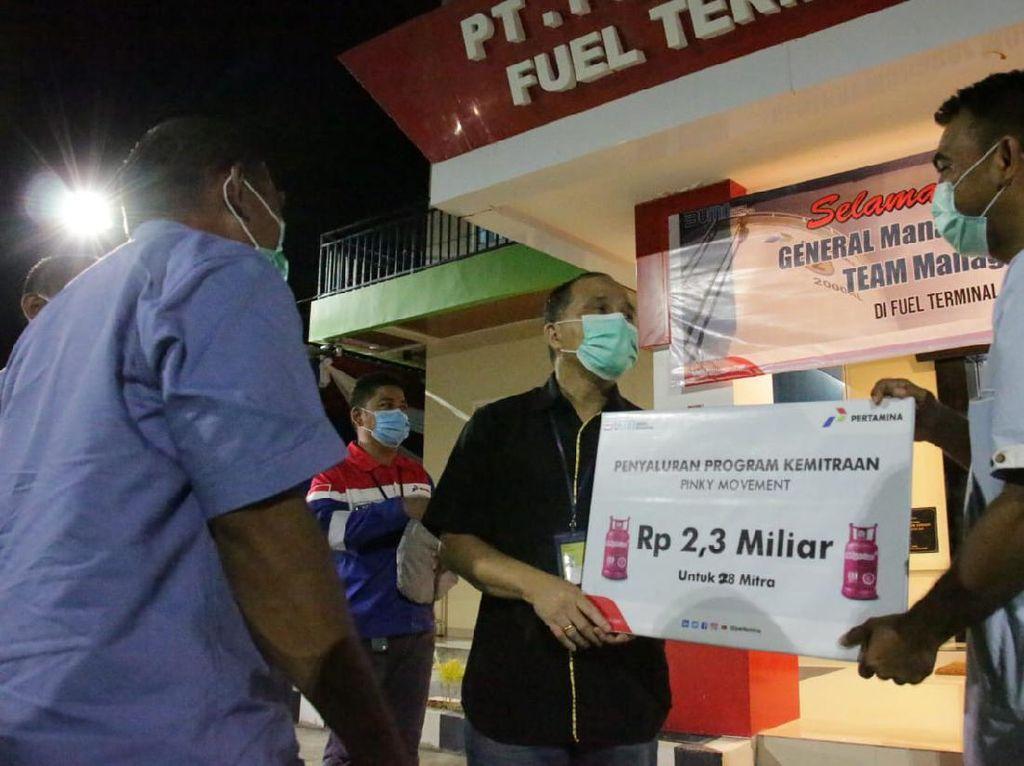 Pertamina Salurkan Modal Usaha Rp 2,3 M di Sulawesi