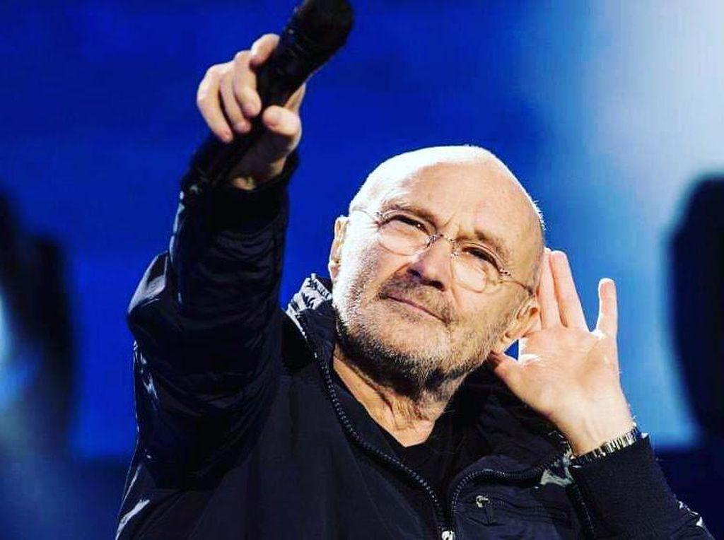 Disebut Jorok oleh Mantan Istri, Phil Collins Setahun Tak Pernah Mandi?