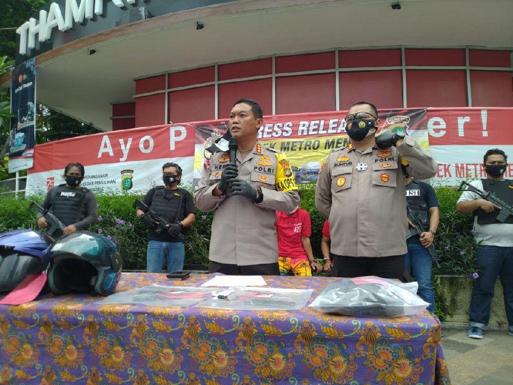 Ditangkap Polisi, Jambret di Menteng Sebar Ranjau Paku di Jalanan