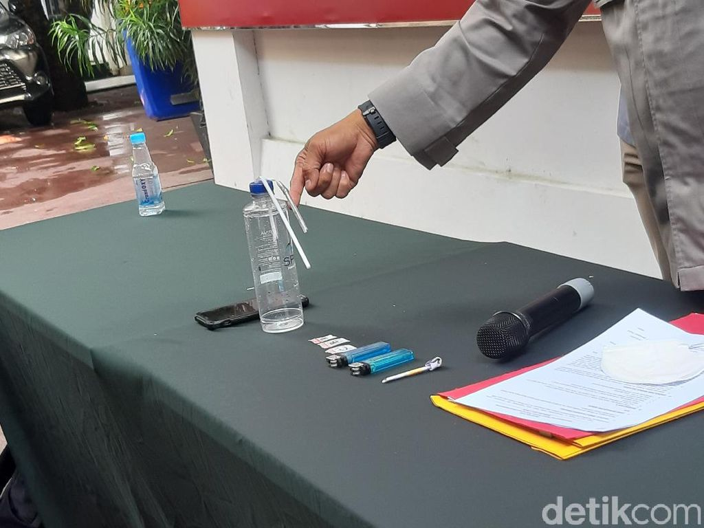 Polisi Amankan Sabu 0,4 Gram dari Pesinetron Dari Jendela SMP