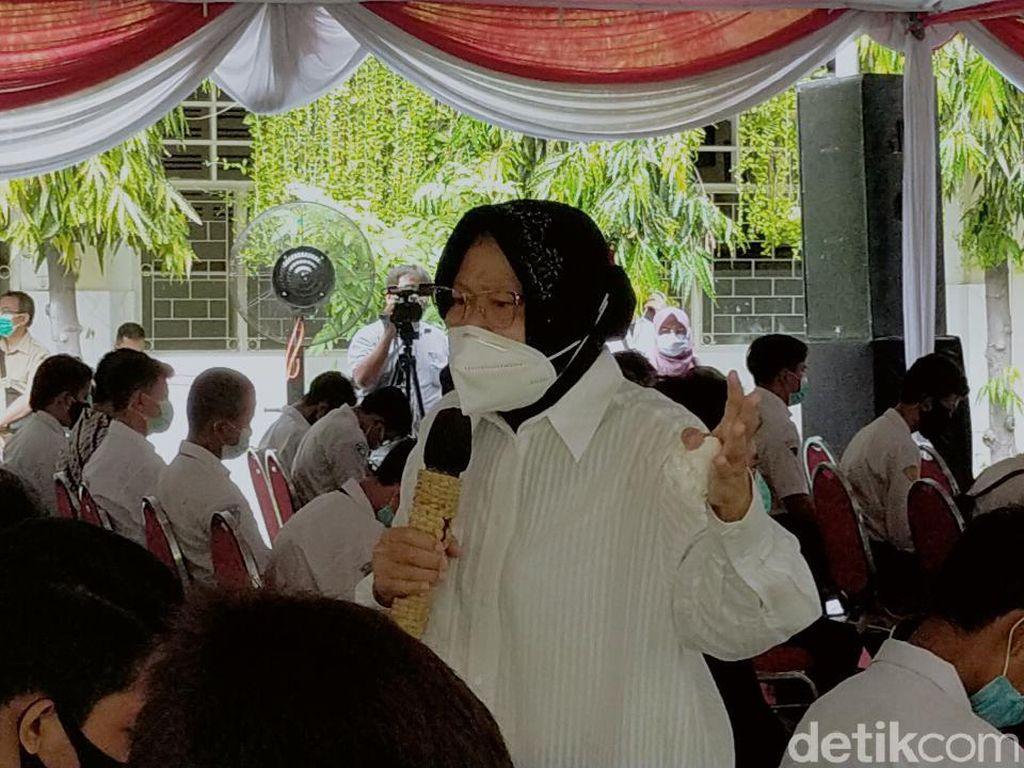 Risma Protes Keras Pelibatan Anak Dalam Aksi Demo Omnibus Law