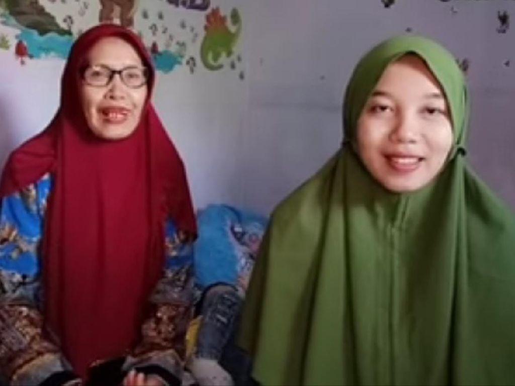 Ungkapan Sayang Treni untuk Ibu Asuh yang Pisahkan Dirinya dengan Trena