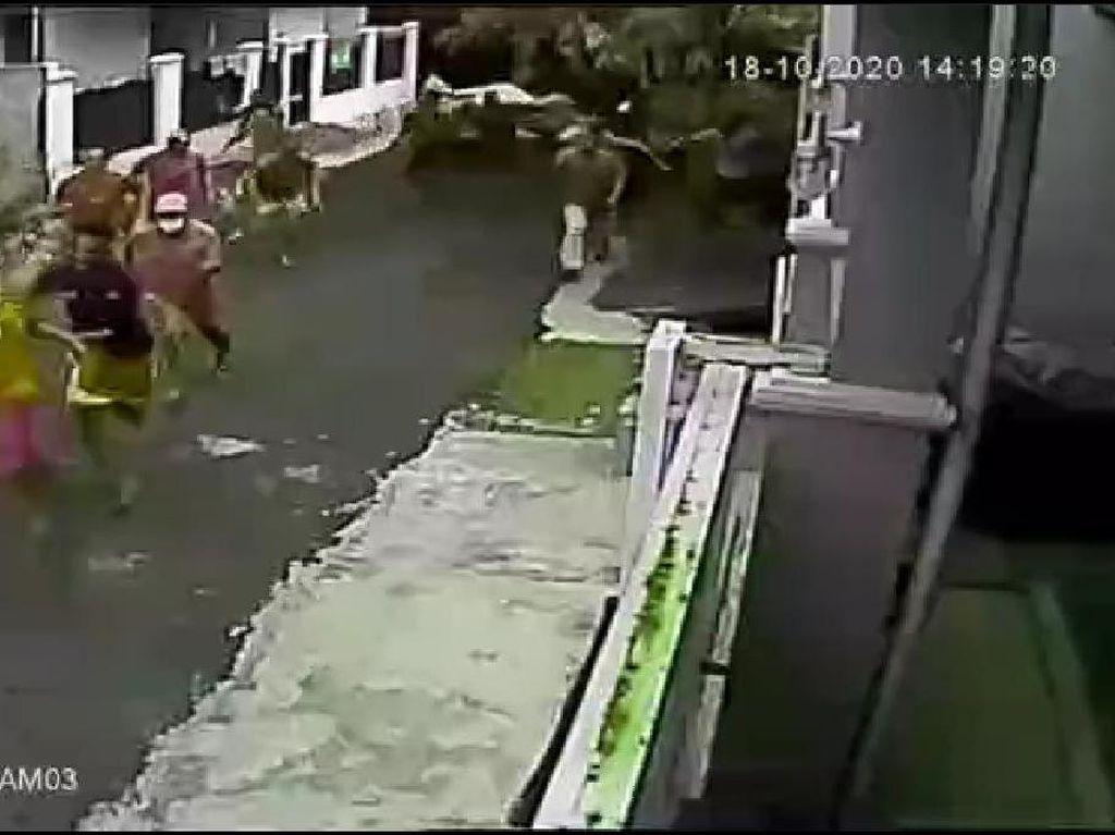Viral Penggerebekan Sabung Ayam Bikin Pelaku Berlarian, Begini Kejadiannya