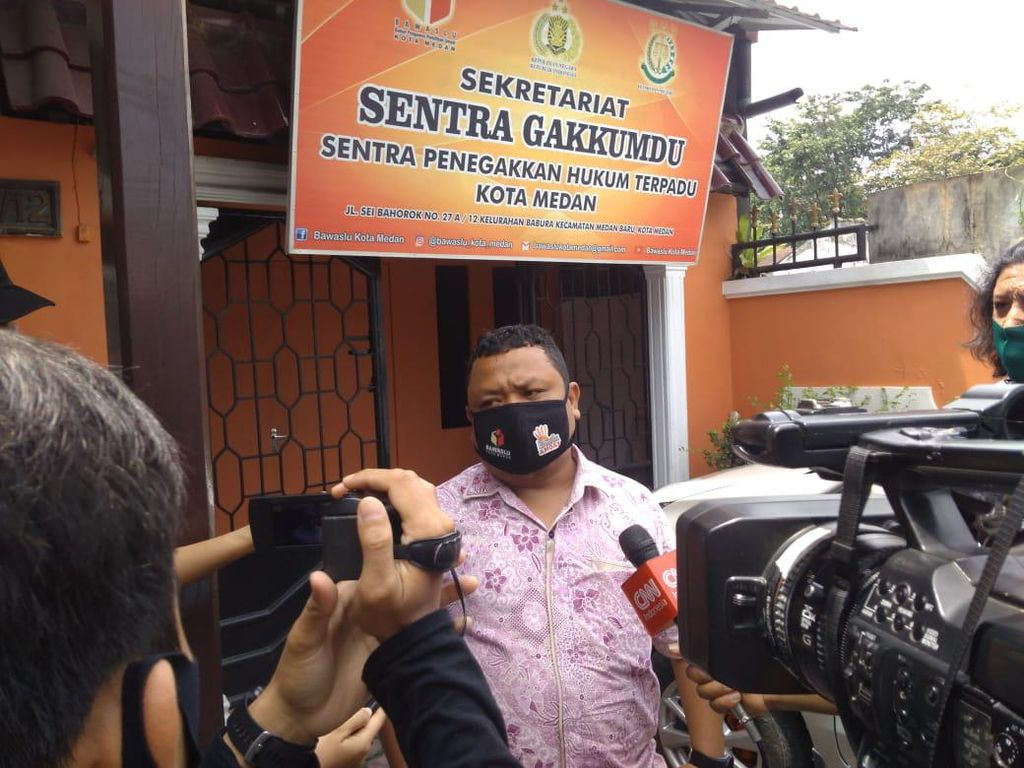 Akhyar Nasution Dilaporkan Warga ke Bawaslu Medan