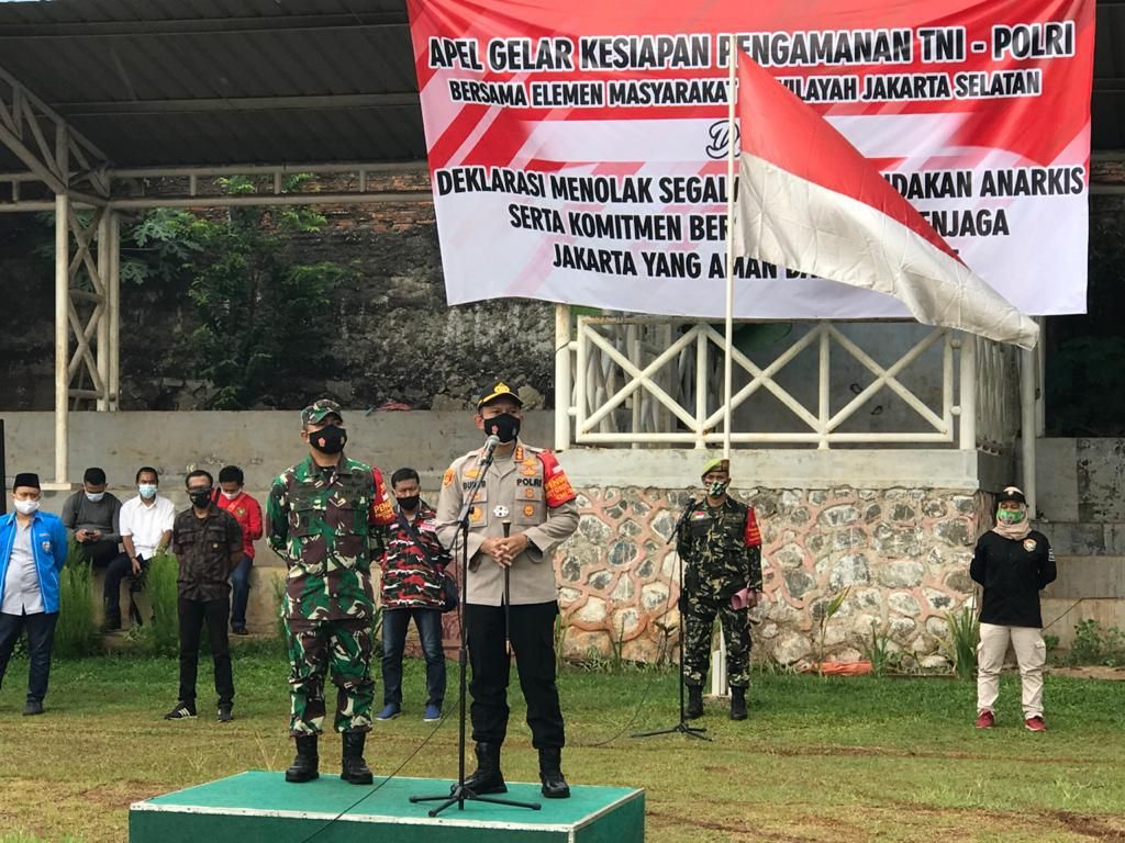 Jaga Jakarta Tetap Kondusif, Ormas di DKI Deklarasi Tolak Aksi Anarkis