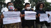 Setahun Jokowi, Mahasiwa Unpad Desak Pemerintah Cabut Omnibus Law