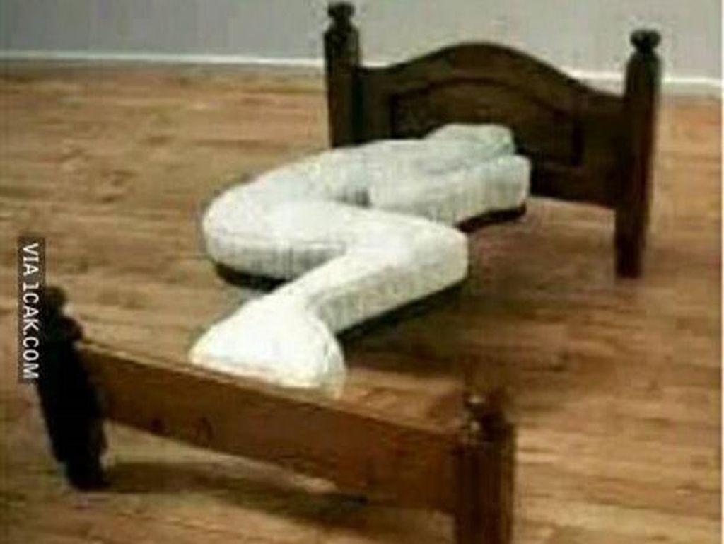 10 Foto Tempat Tidur Anti Mainstream, Desainnya Nyeleneh & Bikin Tepok Jidat