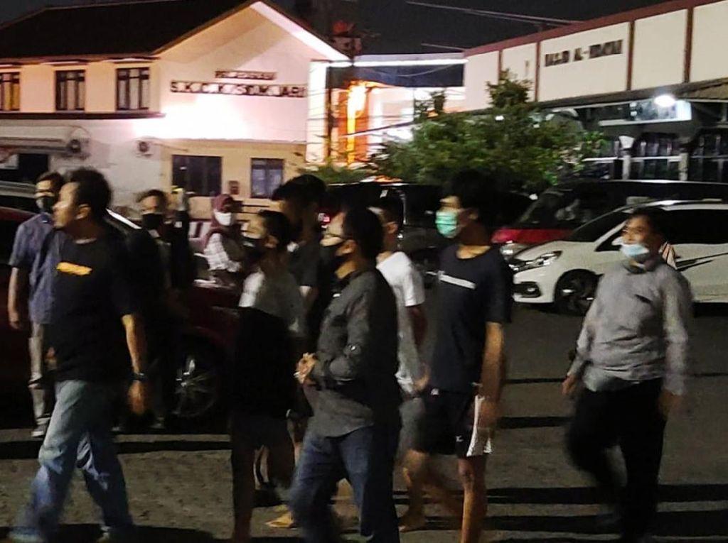 4 Mahasiswa Tersangka Ricuh di Semarang Dikeluarkan dari Tahanan