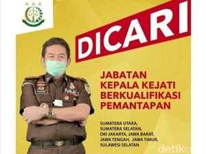 Jabatan Kepala Kejati Jawa Timur Dilelang