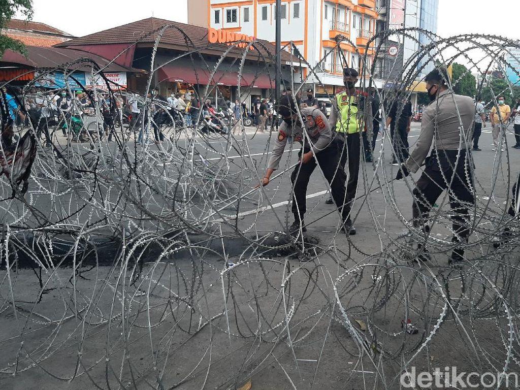 Demo Mahasiswa Bubar, Ruas Jalan Sekitar Istana Bogor Masih Ditutup