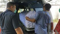 Jenazah Ketua Gerindra Pekalongan Dibawa ke Rumah Duka