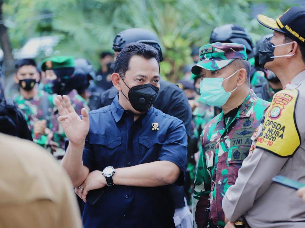 Kabareskrim-Kapolda Metro Jaya Pantau Demo Mahasiswa di Patung Kuda
