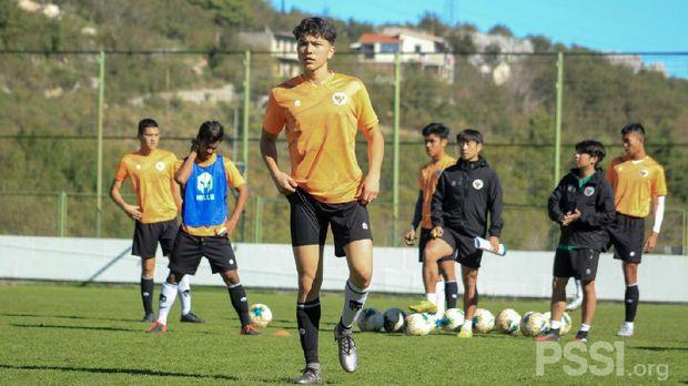 Luah Mahesa, salah satu pemain keturunan di Timnas U-19