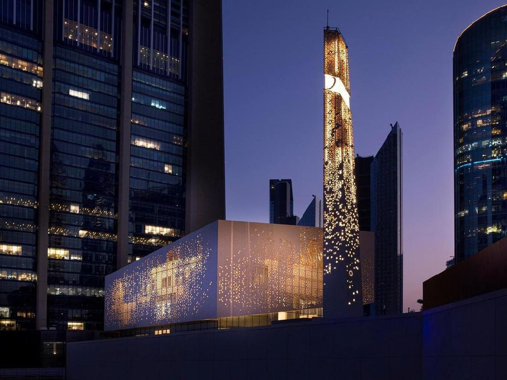 Masjid nan Indah di Dubai Gabungkan Nuansa Modern dan Arab Tradisional