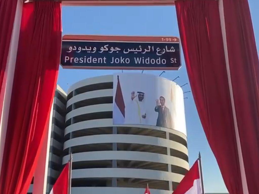 Selain Jalan di UEA, Nama Jokowi Juga Disematkan ke Jembatan-Taman