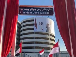 Jokowi Jadi Nama Jalan di UEA, NasDem: Kebanggaan Nasional