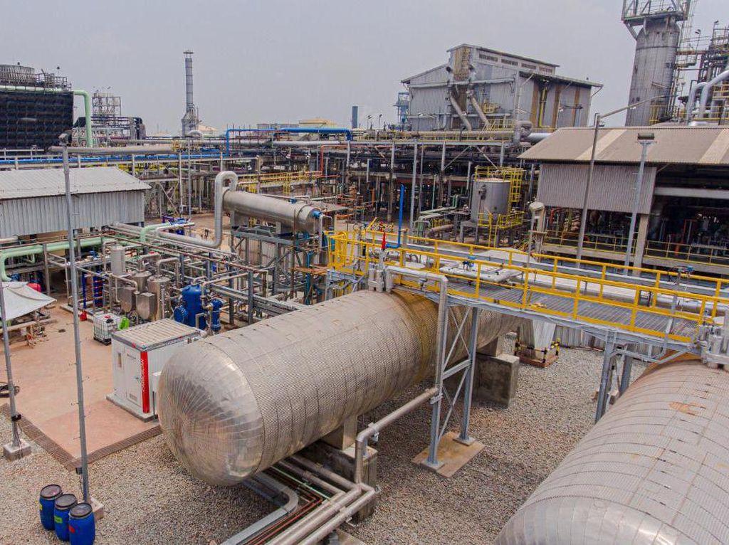 Rekind Rampungkan Pabrik CO2 Liquid Pupuk Kujang