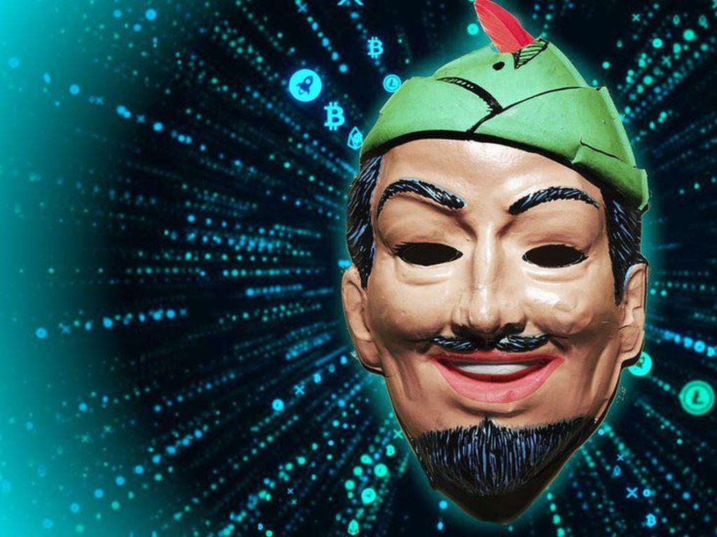 Peretas Robin Hood Sumbangkan Uang Curian ke Sejumlah Badan Amal
