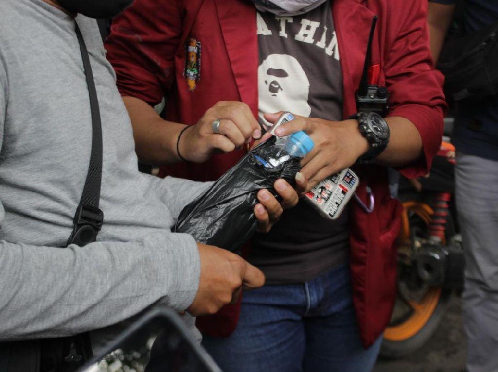 Menyusup di Demo Mahasiswa Kalsel, 7 Pemuda Mabuk Ditangkap