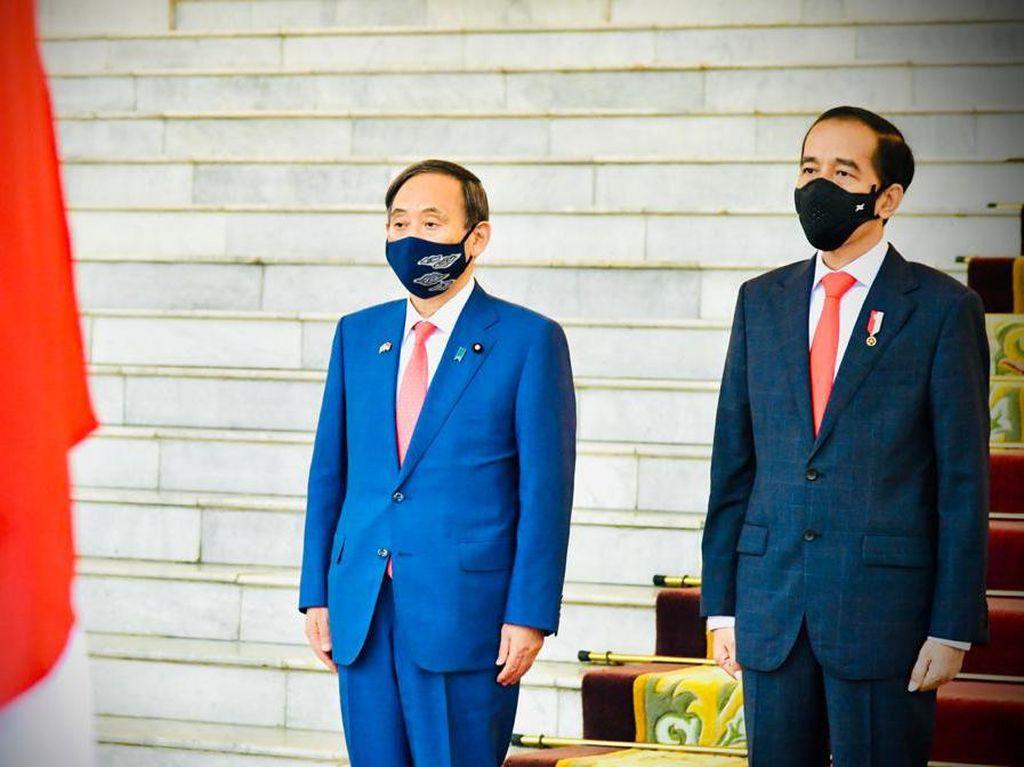 Bertemu PM Jepang, Jokowi Berharap Laut China Selatan Damai
