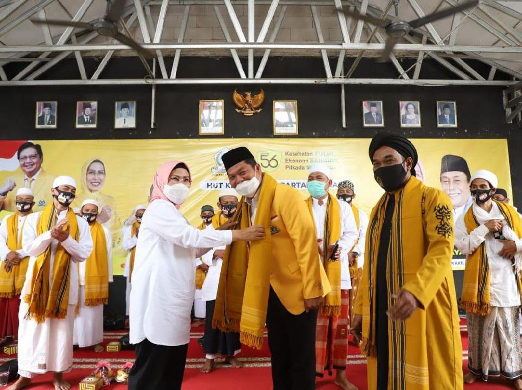 Jelang Pilkada, Ratu Tatu: Target Golkar Menang 100% di Banten