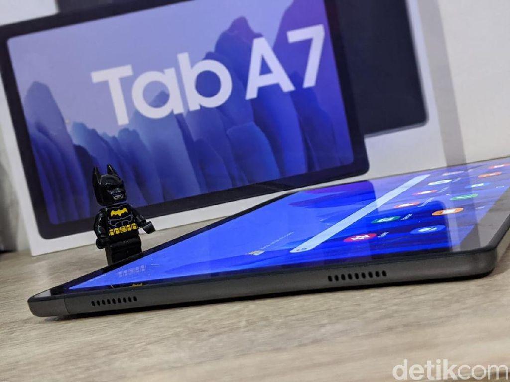 Galaxy Tab A7, Tablet Stylish Untuk WFH dan Belajar Online