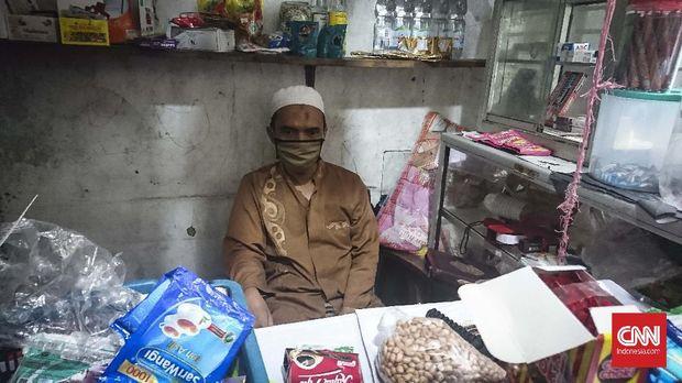 Abdullah, pedagang makanan