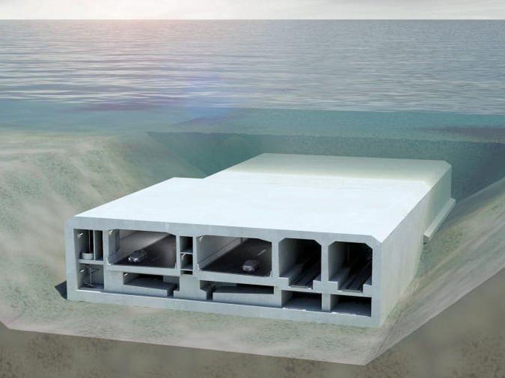 Ini Bakal Calon Terowongan Terendam Terpanjang di Dunia