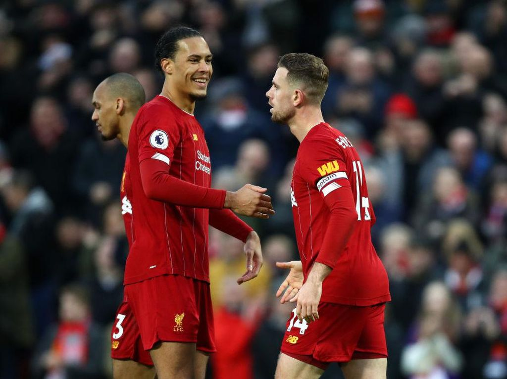 Bukti Liverpool Bergantung Banget dengan Van Dijk