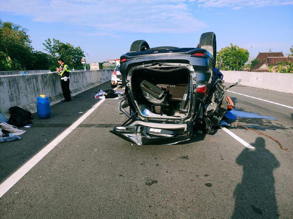 Dugaan Penyebab Kecelakaan yang Tewaskan Ketua Gerindra Pekalongan
