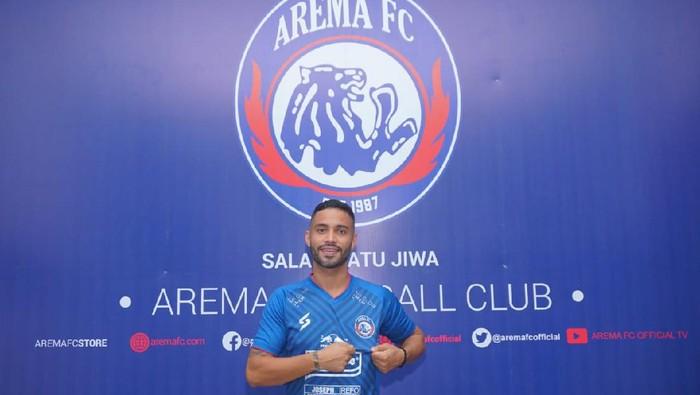 Bruno Smith resmi menjadi pemain Arema FC.