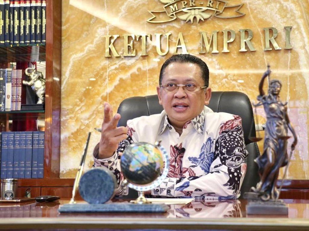 Ketua MPR Paparkan Alasan TNI Jadi Lembaga Paling Dipercaya Publik
