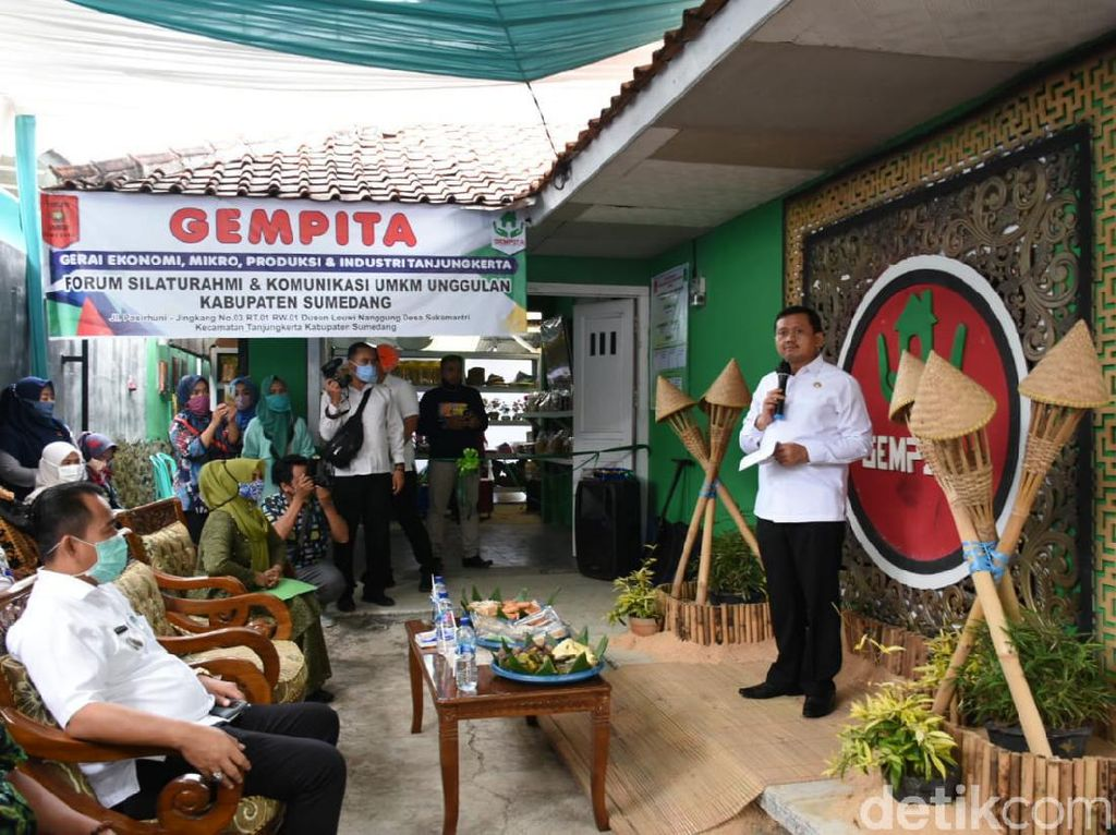 Gempita, Gerai Produk UMKM Tingkat Kecamatan ke-9 di Sumedang