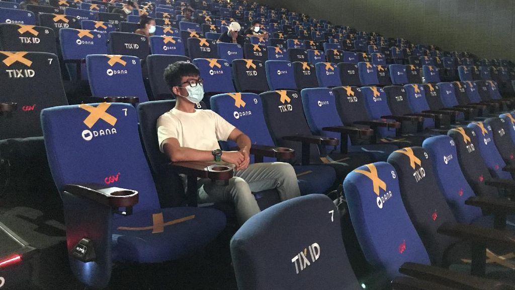 Tahapan Nonton Bioskop di Era New Normal