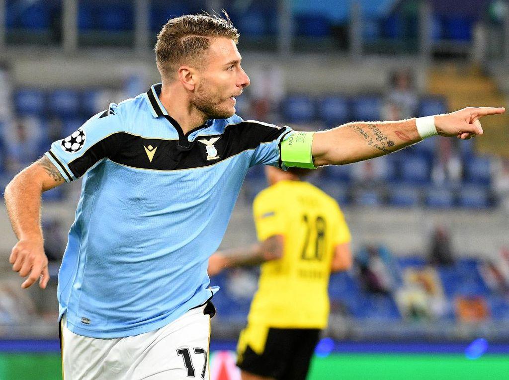 Lazio Vs Dortmund: Ciro Immobile Cs Menang 3-1