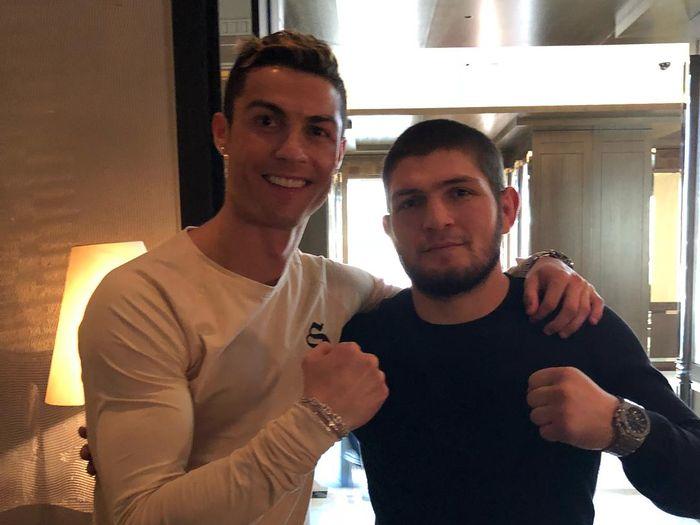 Cristiano Ronaldo dan Khabib Nurmagomedov