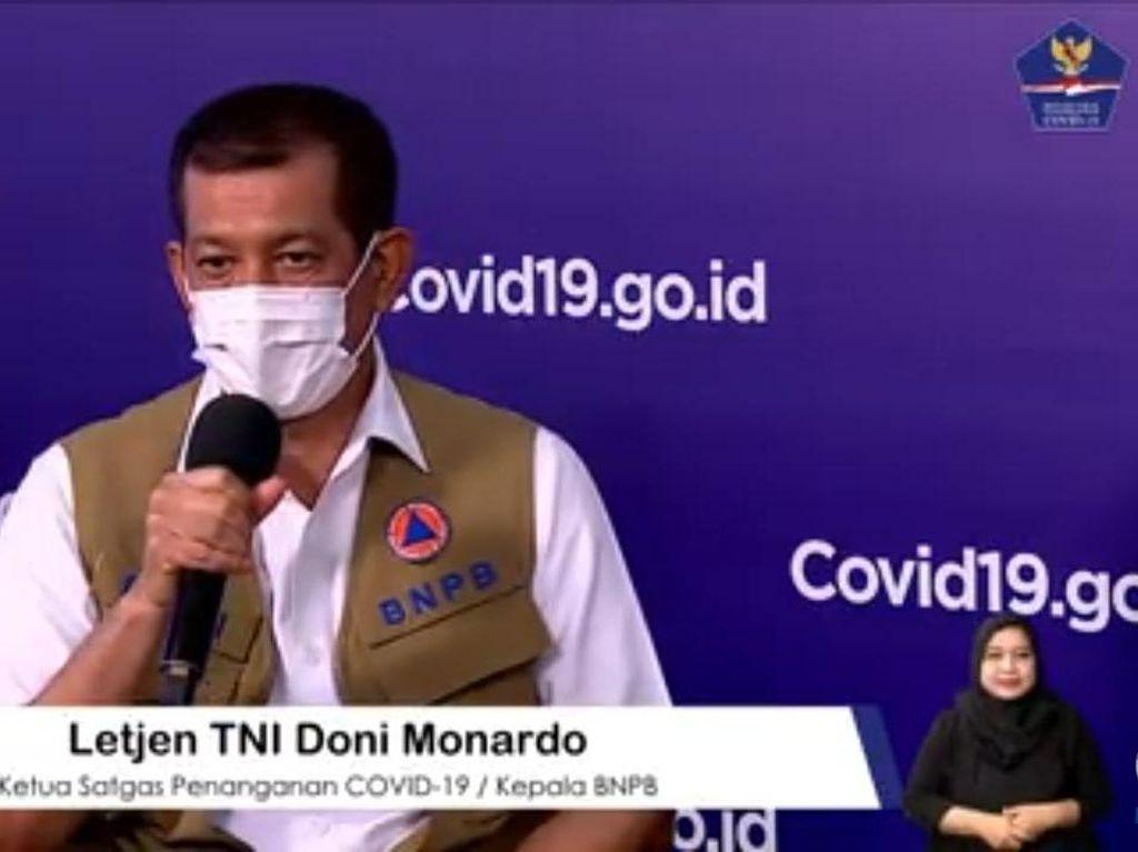 Pemerintah Tegaskan Pasien Positif COVID-19 Tak Dirawat di Rumah