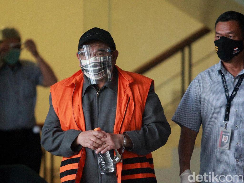 KPK Periksa Dadang Suganda Soal Korupsi RTH Bandung