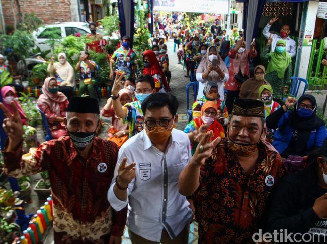 Machfud Arifin Terima Dukungan Warga Kedung Anyar Surabaya
