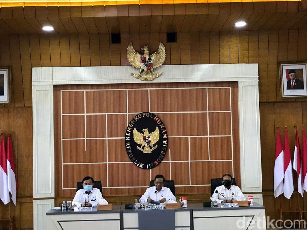 Mahfud: Ada Dugaan Keterlibatan KKB di Pembunuhan 2 Aparat-1 Warga di Papua
