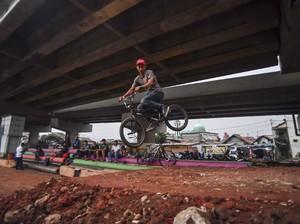Bike Park di Kolong Tol Becakayu Dibangun Tanpa APBD