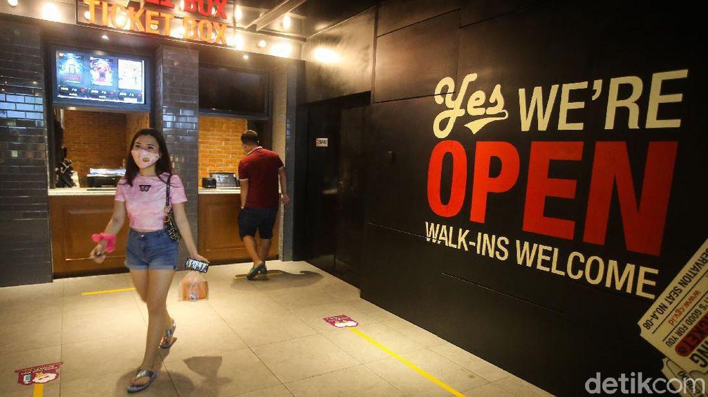 Pengumuman! Bioskop CGV Jakarta Buka Lagi