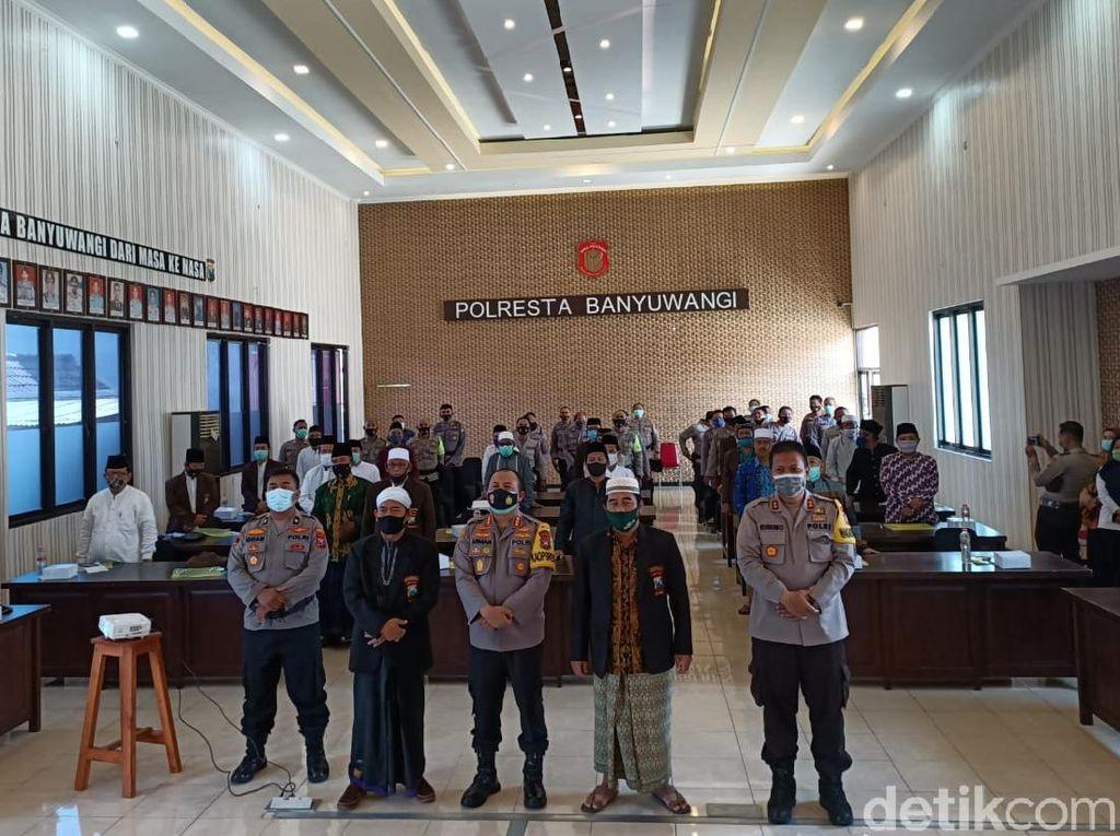 Polisi Banyuwangi Gandeng Dai Ciptakan Pilkada Aman dan Damai