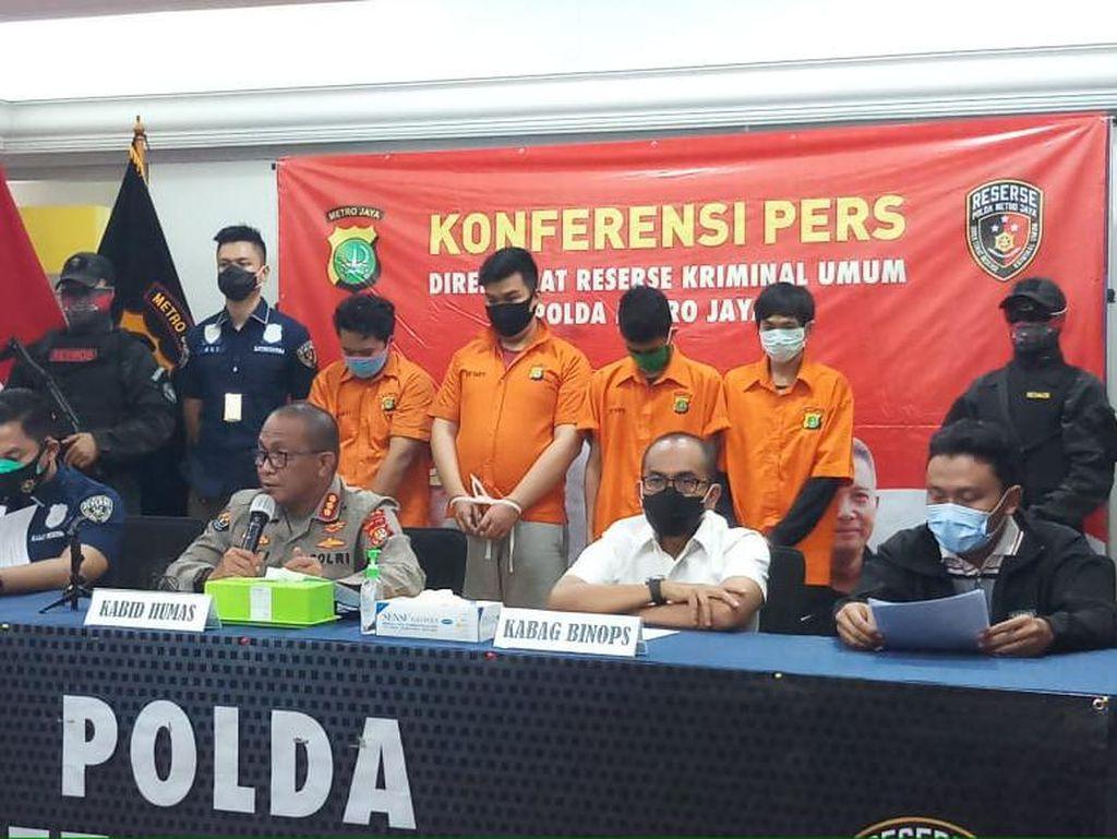 Polda Metro Tangkap 6 Pengeroyok Polisi Saat Demo Ricuh di Tamansari